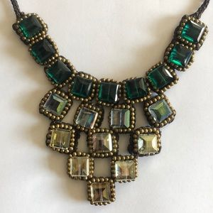 Anthropologie Jewelry - Anthropologie woven necklace